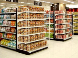 what causes austism - grocery shelves